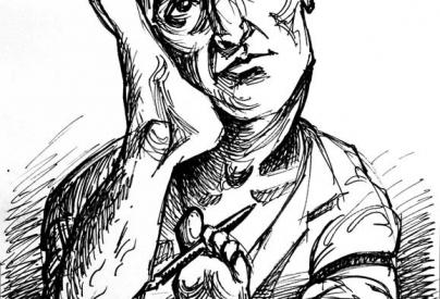 Ilustración: De la serie Antropológicas