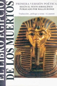 Portada del libro: El libro egipcio de los muertos