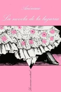 """Portada del libro """"La novela de la lujuria"""""""