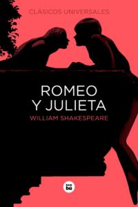 Portada del libro Romeo y Julieta, por William Shakespeare