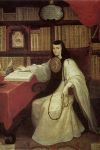 Poeta mexicana Sor Juana Inés de la Cruz